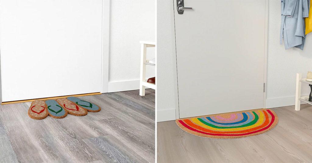 Arredare l'ingresso di casa con queste proposte di Zerbino firmate Ikea colorate e sopratutto economiche