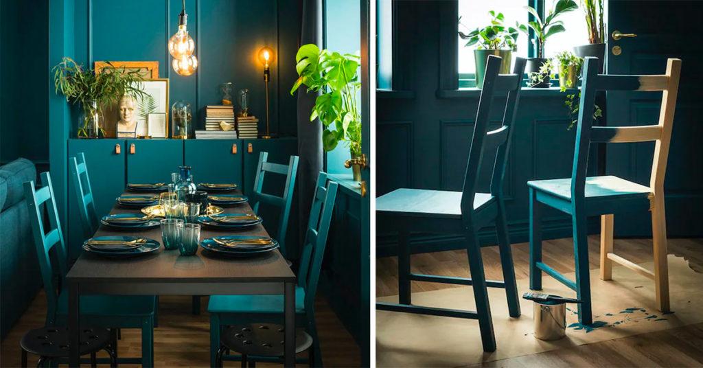 Arredare la sala da pranzo con IKEA a meno di 250 €
