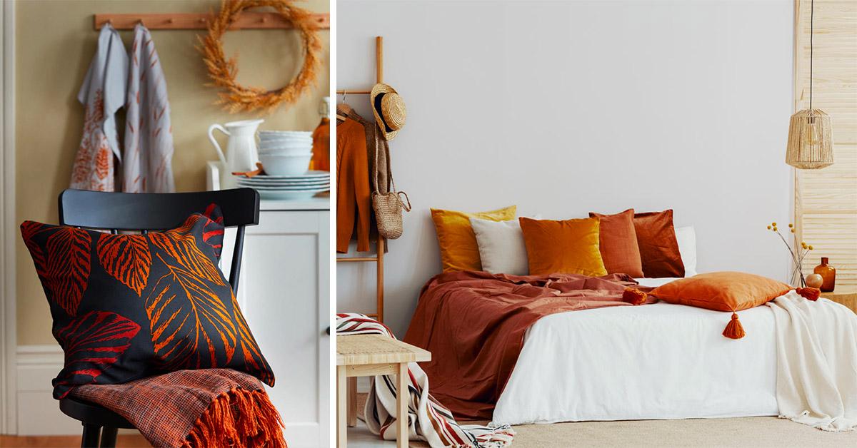 decorazioni e idee per far entrare l'autunno in casa