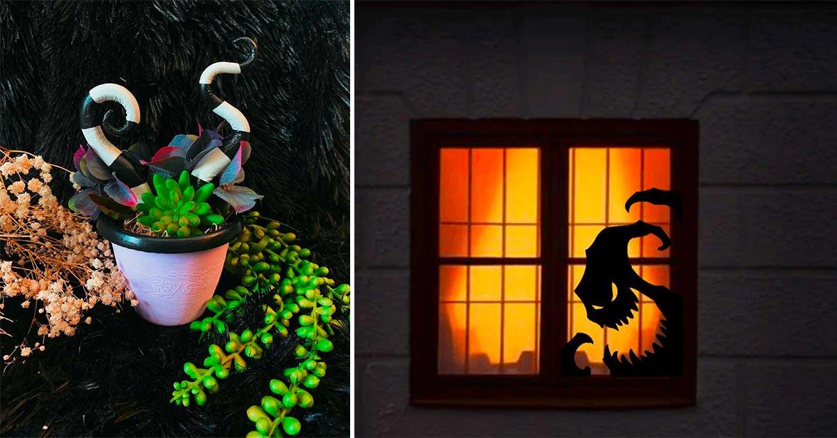 decorazioni casa Halloween stile Tim Burton