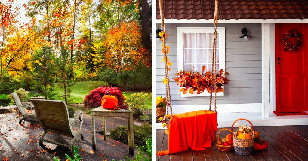 idee per godersi il terrazzo anche in autunno