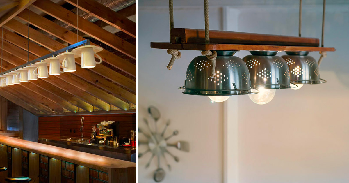 idee riciclo creativo con accessori della cucina