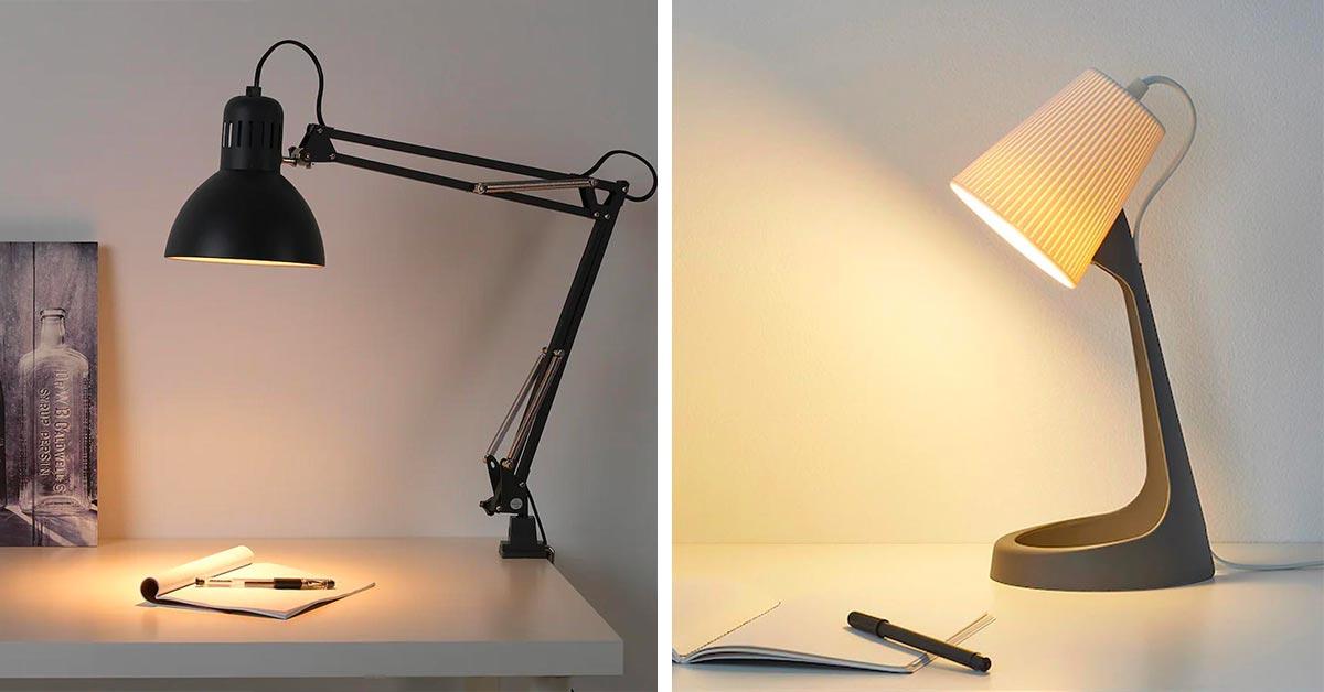 lampade per scrivania di ikea