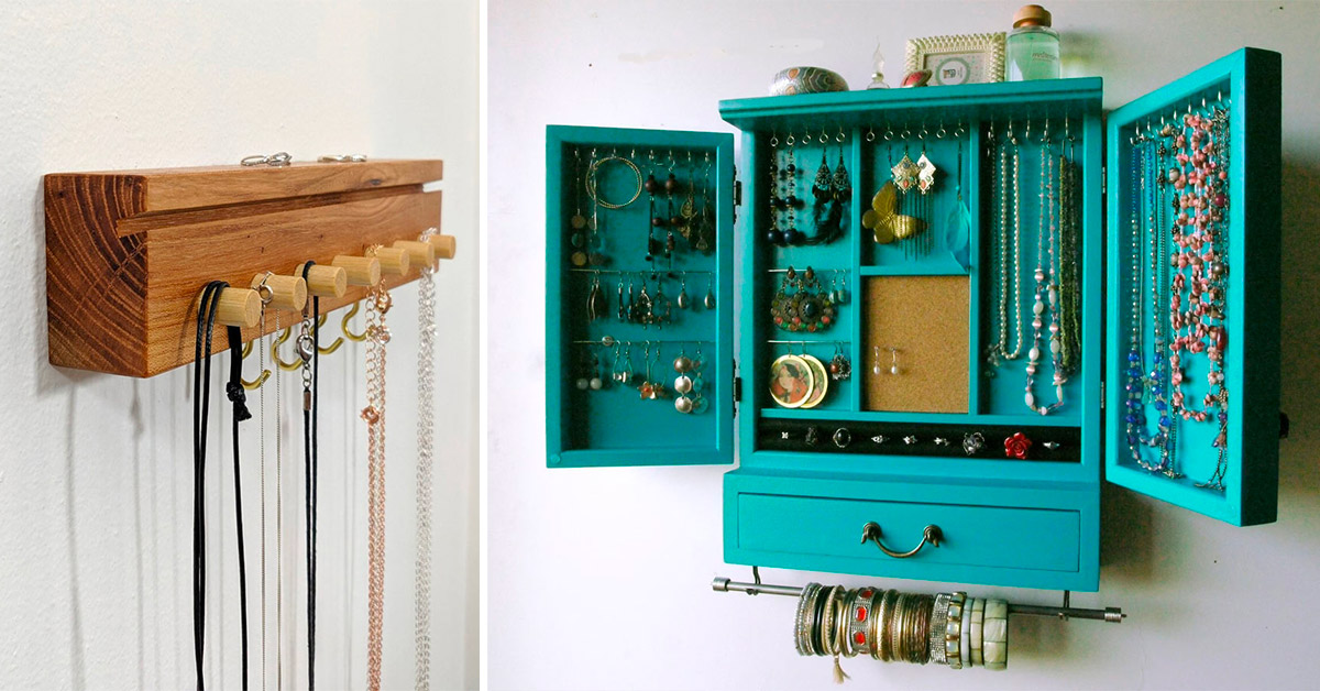 porta bijoux fai da te con riciclo creativo