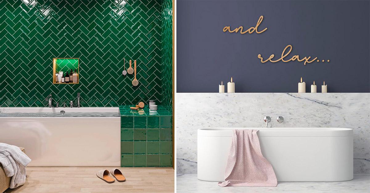 Come rinnovare le pareti del bagno con stile e ricercatezza