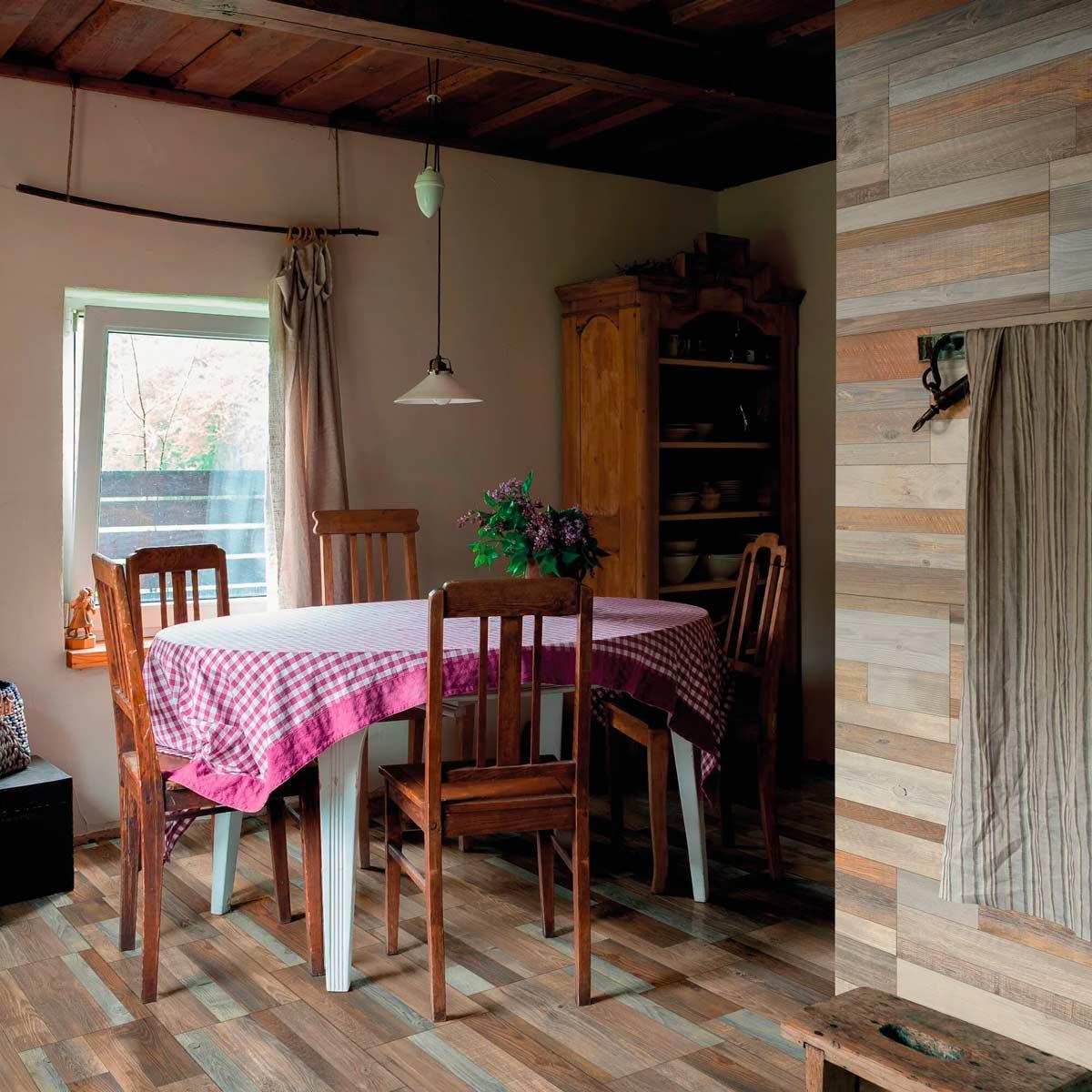 soluzioni per rivestire velocemente le pareti di casa con il legno