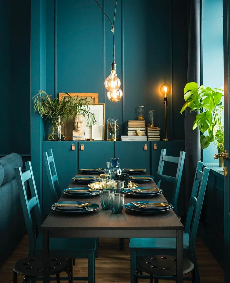 sala da pranzo con mobili ike aa meno di 250 euro