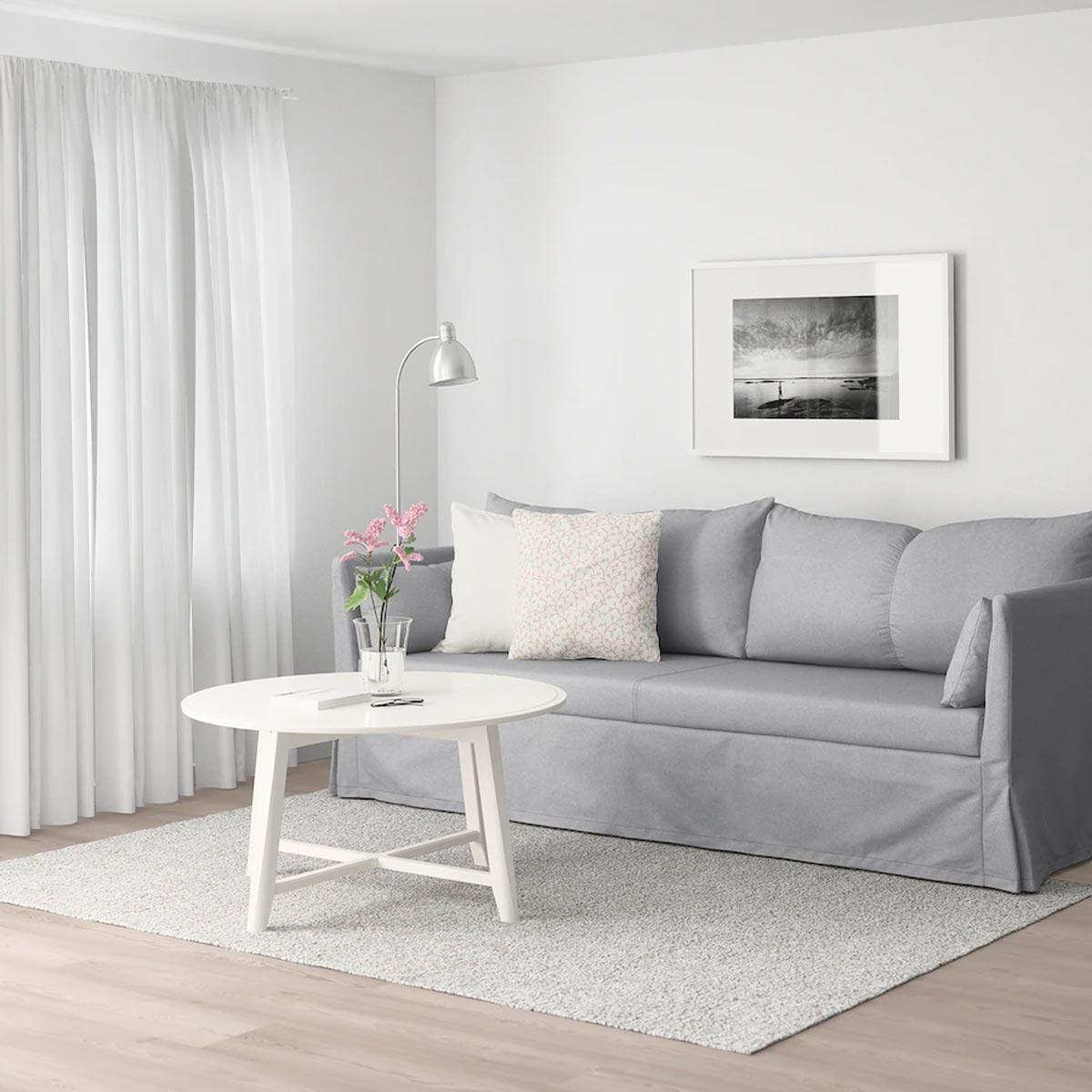 arredare il soggiorno low cost con i mobili ikea fine serie