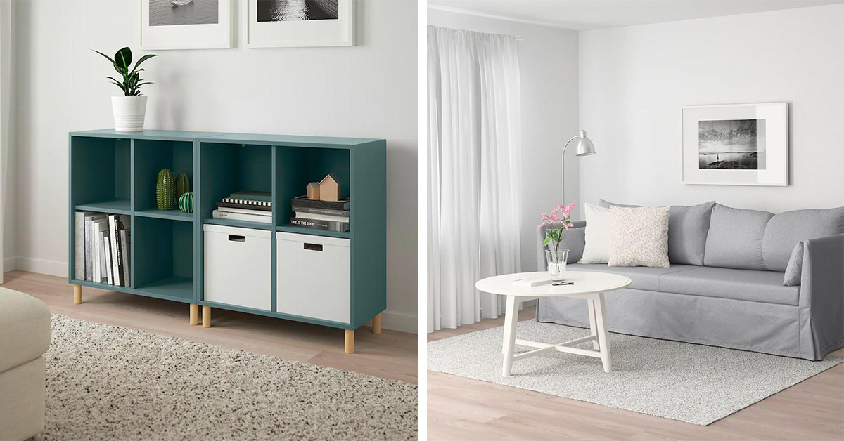 mobili ikea fine serie per arredare il soggiorno low cost