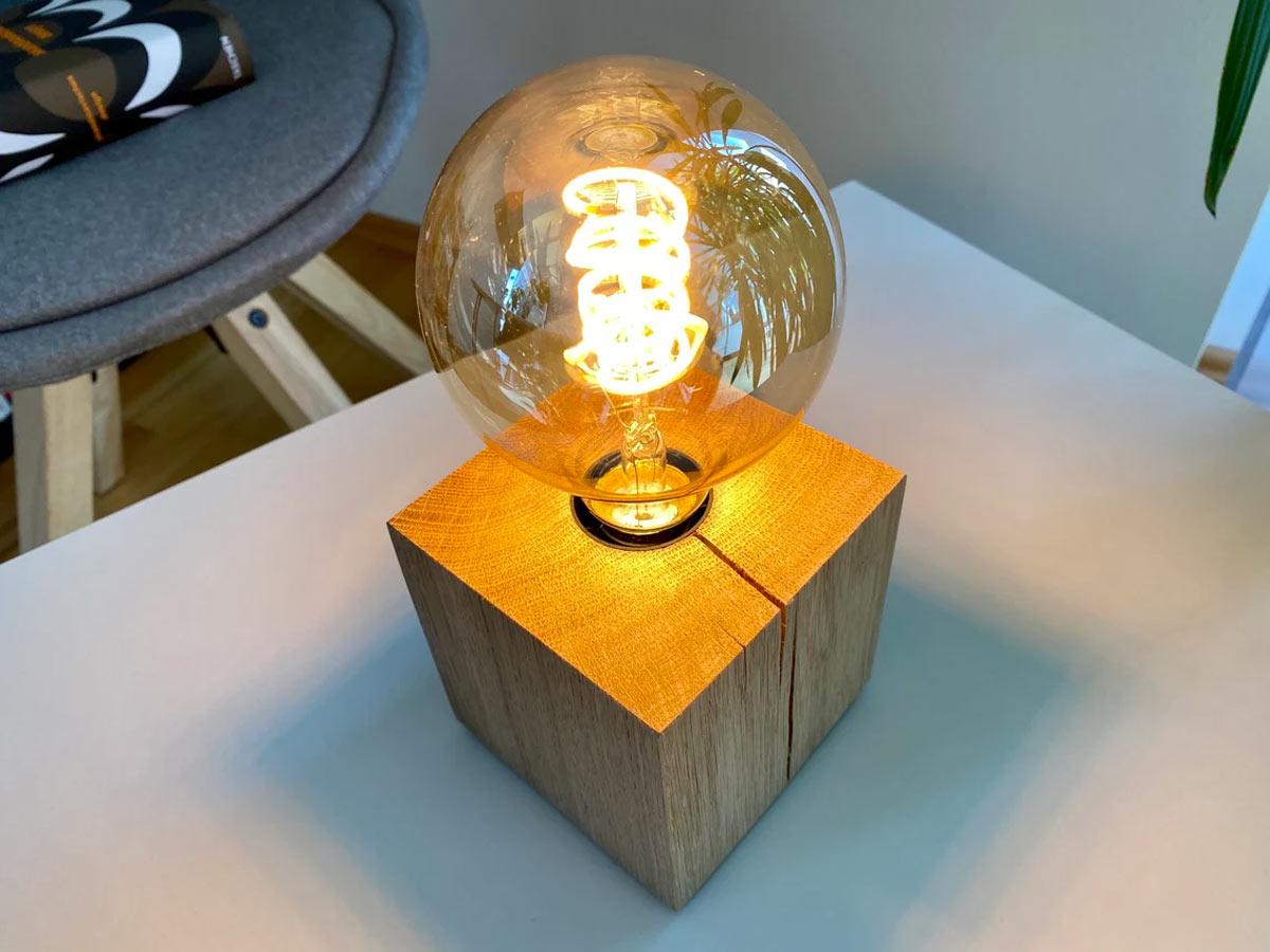 Riciclo creativo cubi pallet di legno.