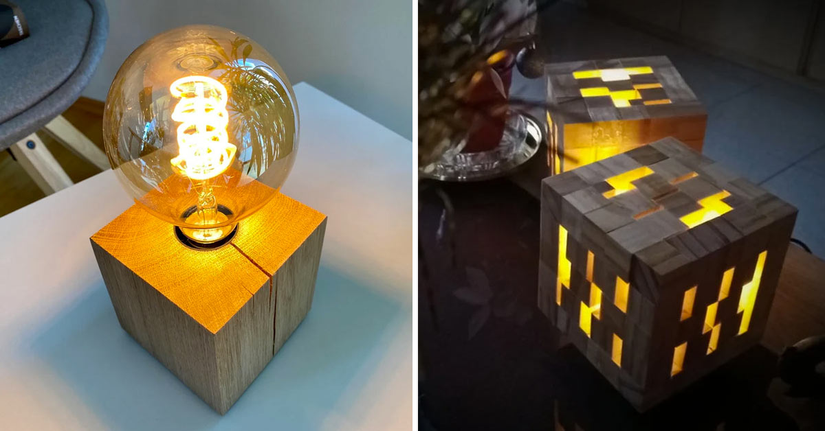 Riciclare creativamente i cubi in legno dei pallet.