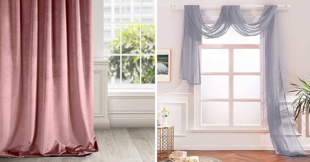 Come scegliere le tende in camera da letto.