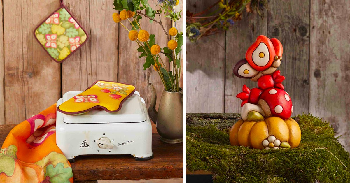 decorare casa in autunno con Thun