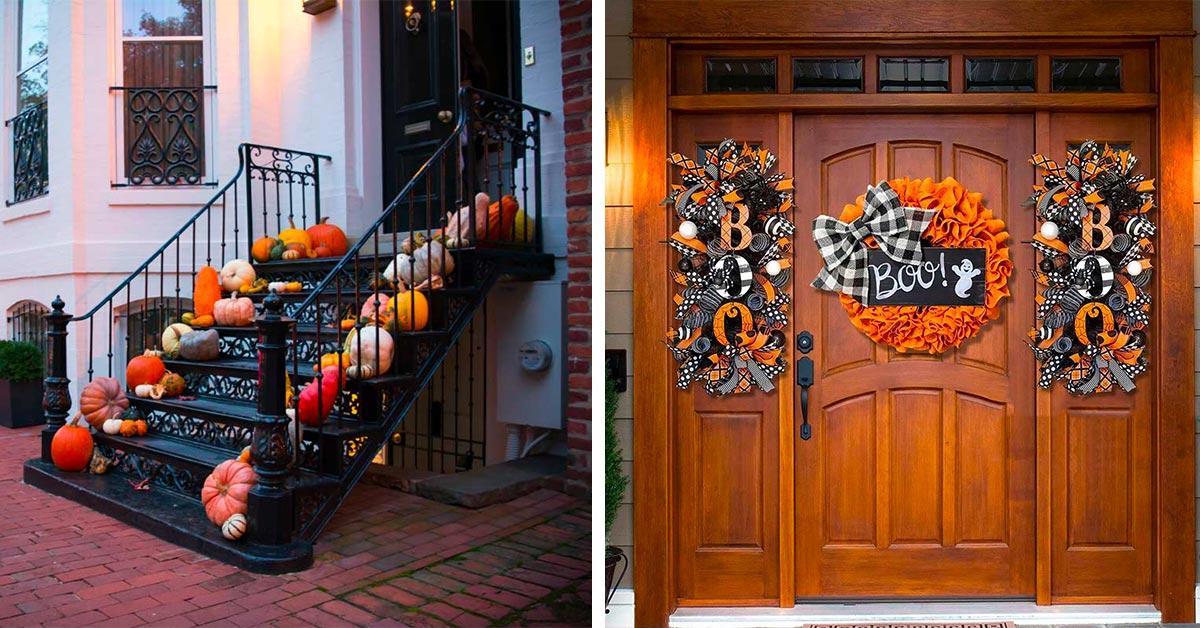 Come decorare ingresso o portico per Halloween