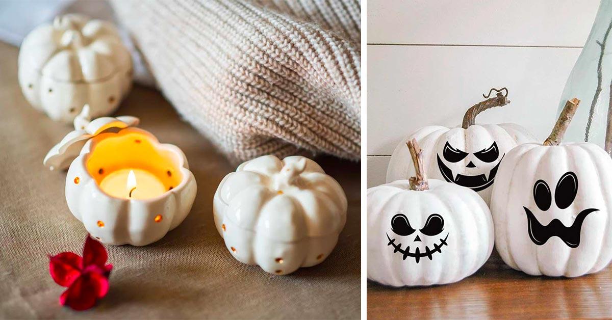 Decorazioni halloween shabby chic fai da te
