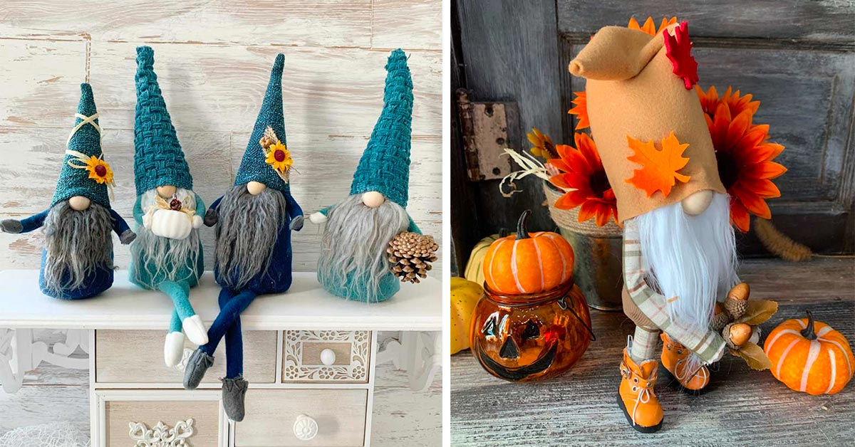 gno d'autunno facili da realizzare per decorare casa