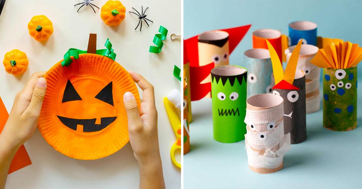 Decorazioni Halloween fai da te.