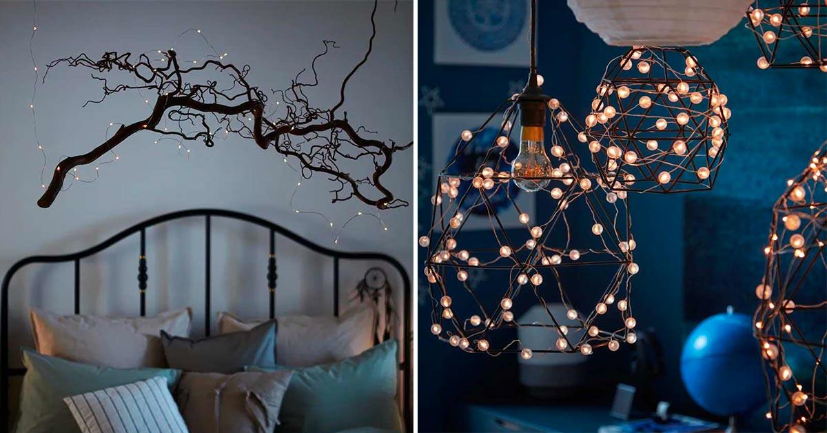 Idee per illuminare casa con Ikea